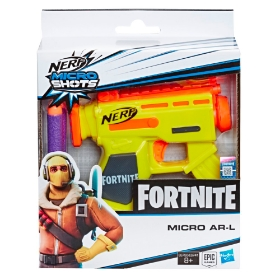 Imagine NERF MICROSHOTS FORTNITE AR L