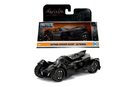 Imagine  BATMAN MASINUTA METALICA ARKHAM BATMOBIL SCARA 1 LA 32