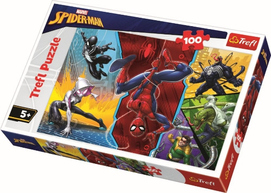 Imagine PUZZLE TREFL 100 SPIDERMAN