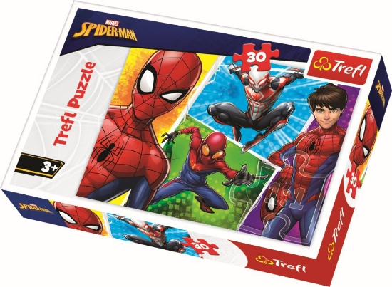 Imagine PUZZLE TREFL 30 SPIDERMAN SI MIGUEL