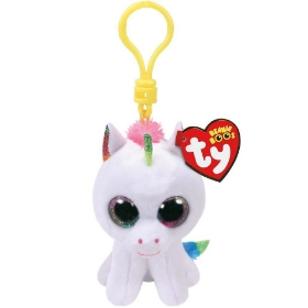 Imagine PLUS BRELOC TY 8.5CM BOOS UNICORN PIXY ALB