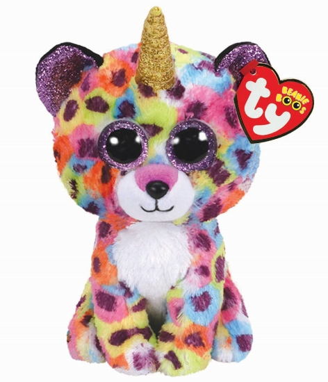 Imagine PLUS TY 15CM BOOS GISELLE LEOPARD MULTICOLOR