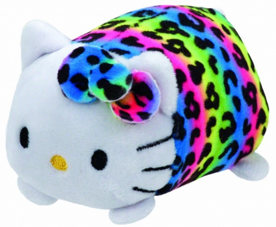 Imagine PLUS TY 10CM TEENY TYS HELLO KITTY MULTICOLORA