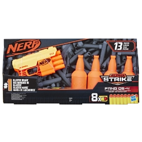 Imagine BLASTER NERF ALPHA STRIKE FANG QS 4 CU TINTE