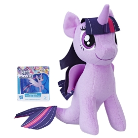 Imagine MLP SOFT PLUS 25CM TWILIGHT SPARKLE CU CODITA DE SIRENA