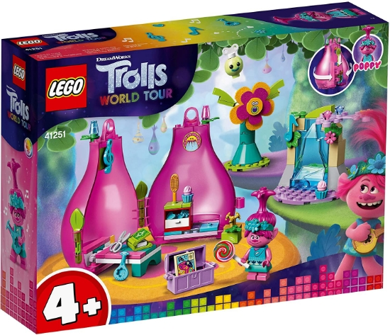 Imagine LEGO TROLLS WORLD TOUR  CAPSULA LUI POPPY 41251