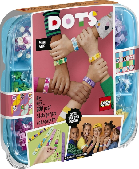 Imagine LEGO DOTS  PACHET 5 BRATARI BFF 41913