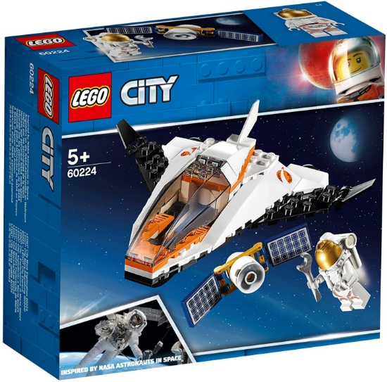 Imagine LEGO CITY MISIUNE DE REPARAT SATELITI 60224