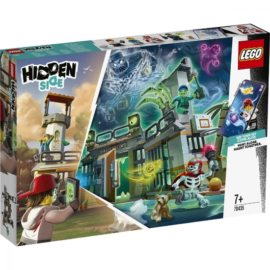 Imagine LEGO HIDDEN SIDE  INCHISOAREA ABANDONATA DIN NEWBURY 70435