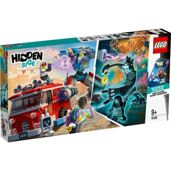 Imagine LEGO HIDDEN SIDE  CAMIONUL DE POMPIERI PHANTOM 3000 70436