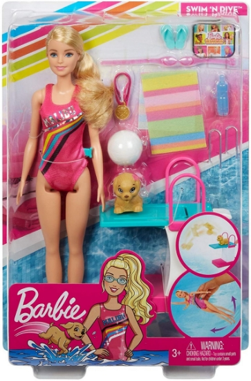 Imagine PAPUSA BARBIE INOTATOARE