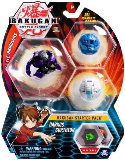 Imagine BAKUGAN PACHET START DARKUS GORTHION