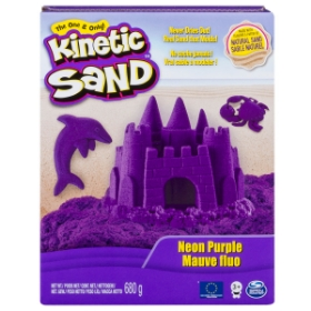 Imagine KINETIC SAND DELUXE CULORI MOV NEON 680GRAME