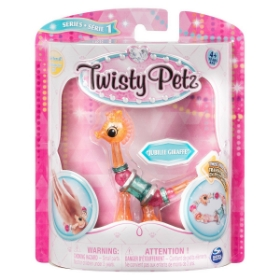 Imagine TWISTY PETZ BRATARA ANIMALUT PENTRU COLECTIONAT GIRAFA JUBILEE