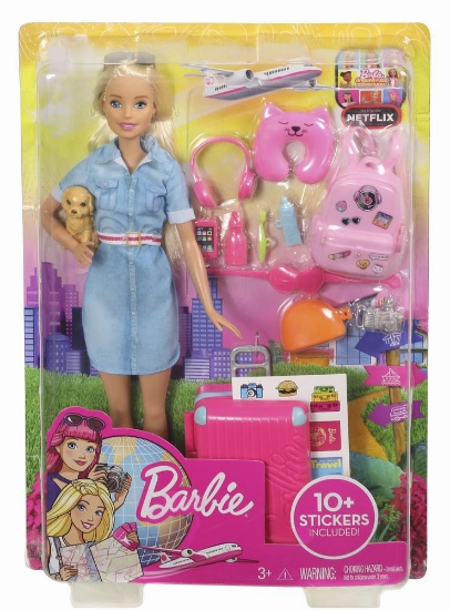 Imagine PAPUSA BARBIE TRAVEL