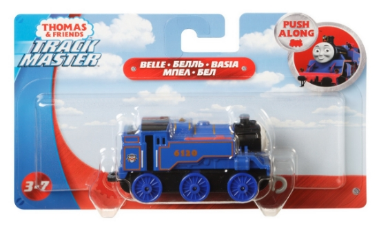 Imagine THOMAS LOCOMOTIVA CU VAGON PUSH ALONG BELLE