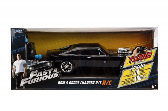 Imagine FAST AND FURIOUS RC DODGE CHARGER 1970 SCARA 1 LA 16