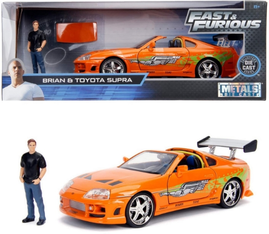 Imagine MASINUTA METALICA TOYOTA SUPRA 1955 FAST AND FURIOS