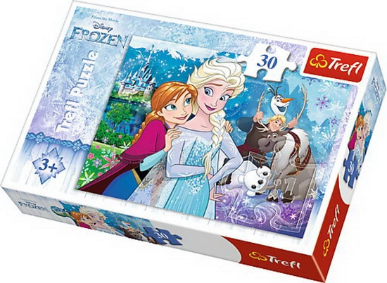 Imagine PUZZLE TREFL 30 MAGIA FROZEN