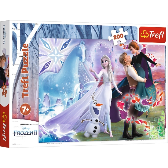 Imagine PUZZLE TREFL 200 FROZEN2 UNIVERSUL MAGIC