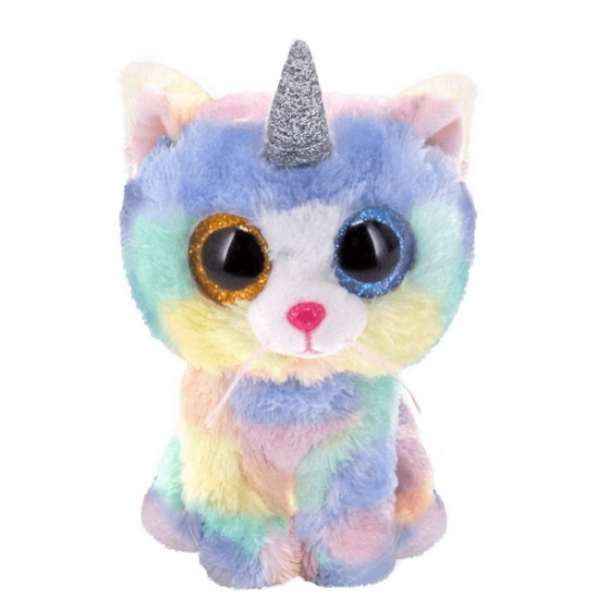 Imagine  PLUS TY 24CM BOOS PISICA UNICORN