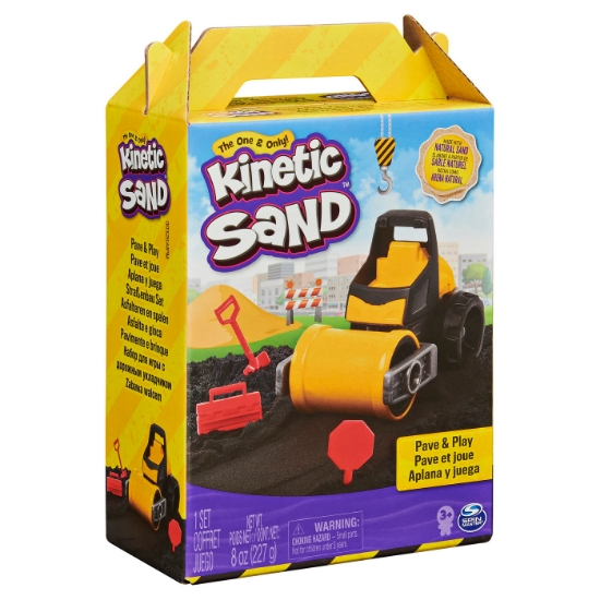 Imagine KINETIC SAND SET CONSTRUCTII ASFALTEAZA SI NIVELEAZA
