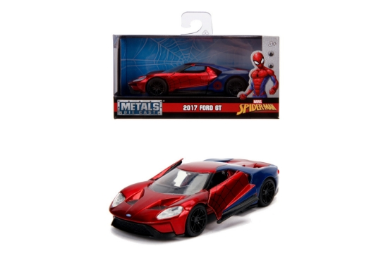 Imagine MASINUTA METALICA SPIDERMAN 2017 FORD GT SCARA 1 LA 32