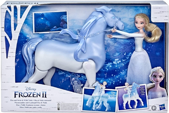 Imagine SET FROZEN2 CU PAPUSA ELSA  SI NOKK SPIRITUL MITIC