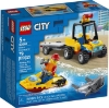 Imagine LEGO CITY  ATV DE SALVARE PE PLAJA 60286