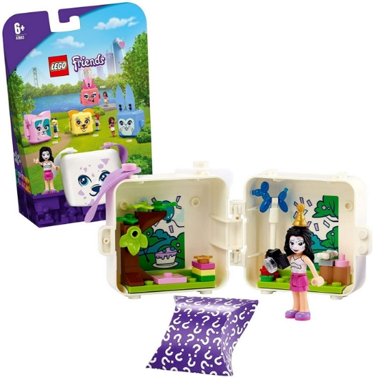 Imagine LEGO FRIENDS CUBUL DALMATIAN AL EMMEI 41663