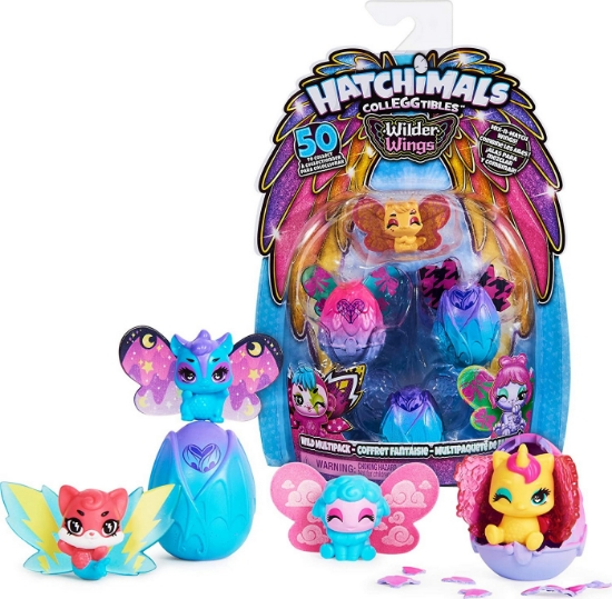 Imagine HATCHIMALS FIGURINE DE COLECTIE IN OU WILD WINGS