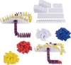Imagine DOMINO ART SET DELUXE 100 PIESE CU ACCESORII BY LILY HEVESH