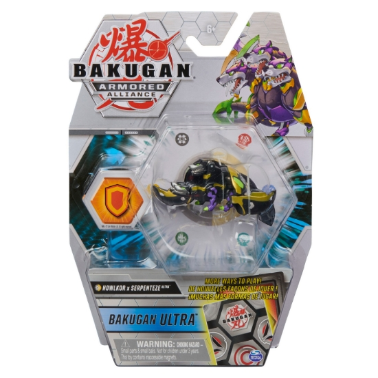 Imagine BAKUGAN S2 BILA ULTRA HOWLKOR SERPENTEZE CU CARD BAKU-GEAR