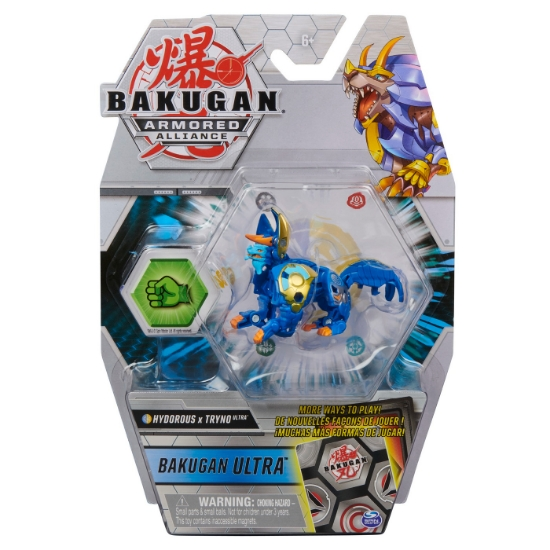 Imagine BAKUGAN S2 BILA ULTRA HYDOROUS TRYNO CU CARD BAKU-GEAR