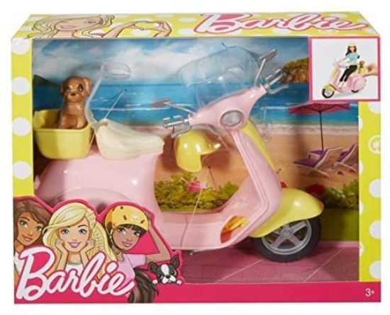 Imagine BARBIE SCUTER