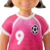 Imagine BARBIE PAPUSA CARIERE SET SPORT ANTRENOR DE FOTBAL BLONDA