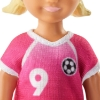 Imagine BARBIE PAPUSA CARIERE SET SPORT ANTRENOR DE FOTBAL BRUNETA